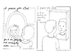 This site has tons of printable scripture coloring pages for Psalm 139 coloring page