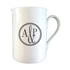 I Just Love It Monogrammed Circle Mug Monogrammed Circle Mug - Gift Details. A chic and simple black and white design runs across one side of this beautifully made ceramic mug which we personalise by adding Initials of your choice. Up to  http://www.MightGet.com/january-2017-11/i-just-love-it-monogrammed-circle-mug.asp