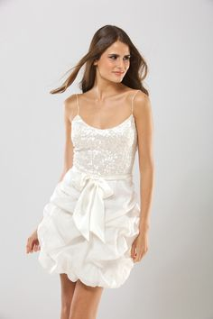 What a perfect little cocktail dress- bridal shower/ rehearsal dinner dress?