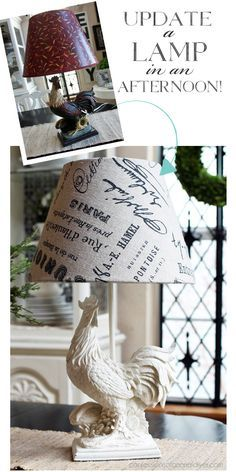 How to recover a lamp shade from Confessions of a Serial Do-it-Yourselfer
