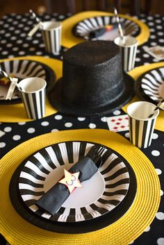 magic theme, cute idea for Jake's birthday party one year Gray Gray Gray Beattie Magic Birthday, 6th Birthday Parties, 3rd Birthday, Theme Parties, Magie Party, Magician Party, Magician Cake, Magic Theme, Childrens Party