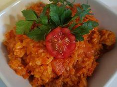 Fokhagymás sült répa | Ágnes Bakos receptje - Cookpad Risotto, Pork, Chicken, Ethnic Recipes, Kale Stir Fry, Pork Chops, Cubs