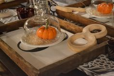 Autumn table setting available Sept 19-21, 2014 at www.chartreuseandco.com/tagsale, #tablesetting, #falltable, #falldecor