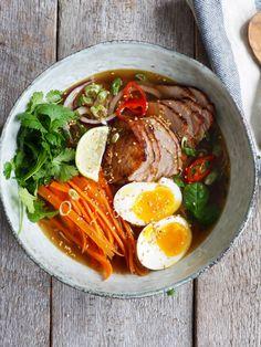Mat På Bordet | Enkel Enkel ramen med svinekjøtt