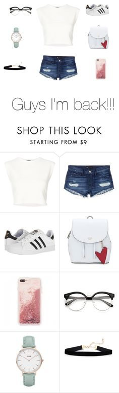 """""""Casual wear"""" by addiecarver1212 ❤ liked on Polyvore featuring Puma, 3x1, adidas and CLUSE"""