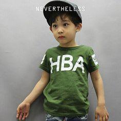 6f334ba9c771b SLASYS  入荷待ち ハーバーTシャツ (グリーン) - 韓国子供服 通販 リズハピネス  キッズ服 ベビー服 男の子 女の子   こども服セレクトショップ