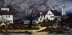 Charles Wysocki Checking In On Olde Martha's Vineyard