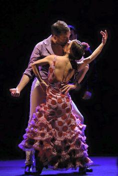 Olga Pericet y Marco Antonio Flores Macias