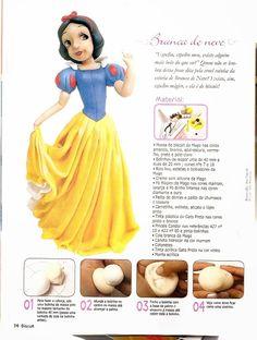 Mi baúl de cosas bonitas: Como hacer princesas en porcelana fria
