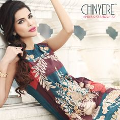 Chinyere Spring Collection 2014 | Chinyere Embroidered, Formal, Casual, Anokhee, Party Wear Dresses - She9 | Change the Life Style