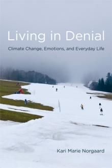 """""""Norgaard attributes this lack of response to the phenomenon of socially organized denial, by which information about climate science is known in the abstract but disconnected from political, social, and private life, and sees this as emblematic of how citizens of industrialized countries are responding to global warming."""""""