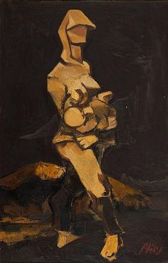 ABIDIN DINO (Turkish, 1913-1993) Maternity, circa 1940s