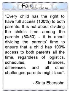 Childrens right to 100% Co-Parenting Co-Parenting Custody Shared Parenting - Single Parent Quotes - Ideas of Single Parent Quotes #singleparent #parentquotes #quotes - Step Parenting, Parenting Plan, Parenting Memes, Parenting Classes, Single Parenting, Parenting Styles, Divorced Parents Quotes, Divorce Counseling, Single Parent Quotes