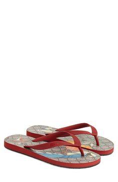 GUCCI 'Bedlam' Flip Flop. #gucci #shoes #sandals