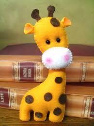 molde girafa para imprimir feltro - Pesquisa Google