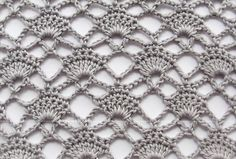 фантазийный узор крючком Crochet Shawl Diagram, Crochet Chart, Different Crochet Stitches, Crochet Stitches Patterns, Diy Crafts Crochet, Crochet Bedspread, Crochet Shell Stitch, Crochet Butterfly, Crochet Shawls And Wraps