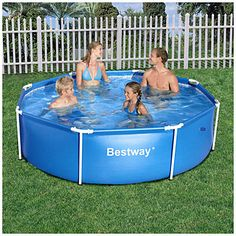 Summer escapes 14 39 x 36 quick set pool at big lots sku for Raising fish in a swimming pool