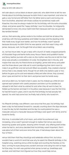 The Marauders - Sirius Black part 1, part 2: https://pin.it/1hJP9dx   part 3: https://pin.it/ISLLAts