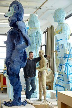 Before his retrospective at Musée d'Art Contemporain de Montréal, David Altmejd gives a studio tour of his New York loft. Modern Sculpture, Abstract Sculpture, Sculpture Art, Abstract Photography, Artistic Photography, Photography Ideas, Op Art, David Altmejd, Modern Art