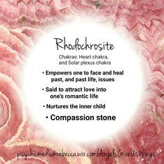 Rhodochrosite crystal meaning