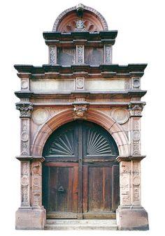Portail de l'Hôtel d'Ebersmunster, Sélestat