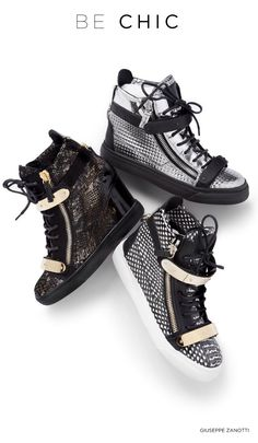 Giuseppe Zanotti sneaker booties