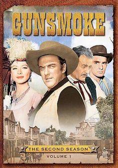 Paramount Studios Gunsmoke: The Second Season Vol. 1