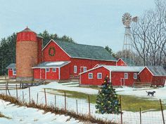Lang Wallpaper ~ On the Farm ~  December 2014