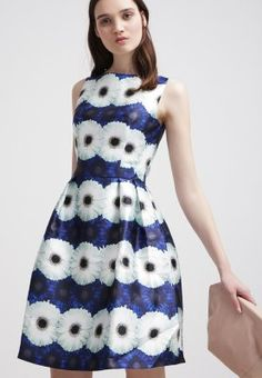 Chi Chi London Sommerkjole - blue flower - Zalando.no