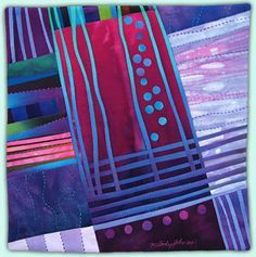Magenta Midway: Melody Johnson - quilt inspiration for polymer canes