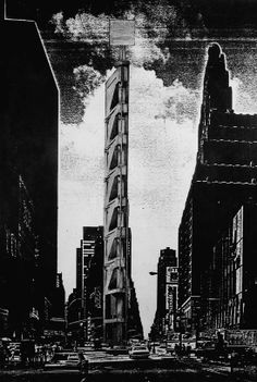 tower for times square— Raimund Abraham by Carlos Brillembourg