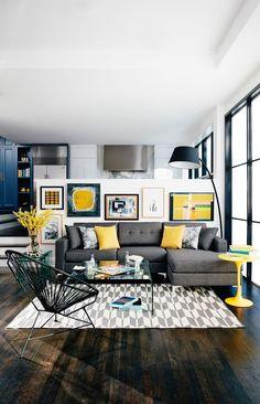 cojines para sofá gris