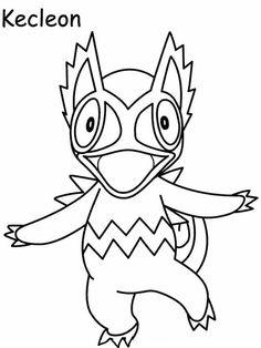 Desenhos para pintar Pokemon 59