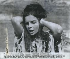 Details about Press Photo Genevieve Bujold,actress in The Trojan ...
