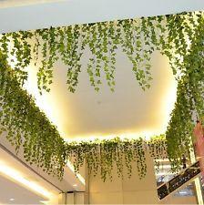 Boston Ivy Green Artificial Fake Plant Vine Flowers Home Bedroom Wedding Decor
