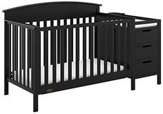 You'll have just about everything your little one needs for diaper changes and bedtime or naps with this Graco Benton convertible crib with changer. Patio Furniture Sets, Kids Furniture, Outdoor Sauna Kits, Tufted Dining Chairs, Modern Crib, Counter Height Dining Sets, Space Saving Storage, Led Flood Lights, Convertible Crib