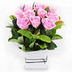 Candy Floss - light pink rose arrangement