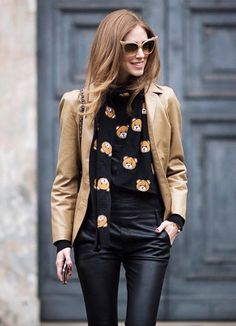 Chiara Ferragni ⭐️ Instagram @isiljakob⭐️fashion week, street style, street fashion, moschino, Chanel