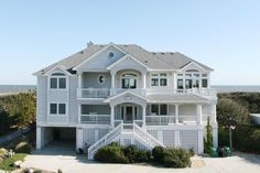 Oceanfront Outer Banks Rentals | Pine Island Rentals | Right On The Beach