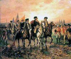 The battle of Yorktown was the final battle of the American revolution. The British were surrounded by AM troops. Eventually they surrendered which signaled the end of the revolution