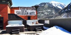 Telluride- Rooftop Hot Tubs and Ice Climbing Telluride Lodging, Ice Climbing, Cozy Room, Hotel Reviews, Lodges, Travel Tips, Tourism, Colorado, Turismo