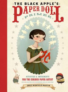Paperdoll Book. The image on the bookcover was just so darling! Maybe I could give this a whirl.