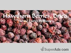 Hawthorn Berries, Dried, All Natural, Chemical Free, Order now, FREE shipping in Colorado CO - Free Colorado SuperAds