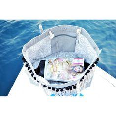 """2 """"Μου αρέσει!"""", 1 σχόλια - Kyriaki Markou (@circe_goods) στο Instagram: """"'Breeze' large bag is lined up with a beige summer cotton fabric 🍍🌴 : : : : : : : #Breeze…"""""""