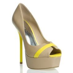 Platform heels!  Great shoes!! I just don't have any outfits to wear with them! Shoedazzle Shoes Platforms