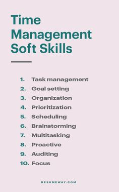 If you can effectively manage your time, you will be more efficient and productive. Consequently, many employers seek applicants with strong time management skills. #SoftSkils #Skills #TimeManagement #Career #Resume Job Interview Preparation, Interview Skills, Job Interview Questions, Job Interview Tips, Resume Icons, Job Resume, Resume Tips, Resume Writing Tips, Resume Skills