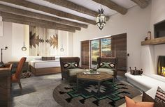 """The Boulders Resort & Spa, a perennial five-star hotel in far North Scottsdale that was recently purchased by Hilton for its Curio collection, announced a multi-million dollar property-wide renovation project.  The project, slated to be finished by December, is helmed by DiLeonardo, an award-winning East Coast design firm.    """"We are rejuvenating a relaxed resort environment, embracing and respecting indigenous inspirations of the Old West. Scale, pattern and colors from the Native American…"""