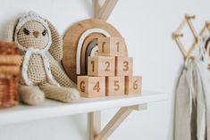 Wood Kids Toys, Kids Toys For Boys, Wood Toys, Wooden Alphabet Blocks, Wood Blocks, Baby Room Decor, Nursery Decor, Organic Baby Toys, Montessori Playroom