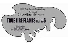 Free True Fire Flames Airbrushing Stencil Template #6 Photo by dr1ace | Photobucket