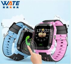 (34.90$) Watch here - New Smart Phone Watch Children Kid Wristwatch Y21 GSM GPRS GPS Locator Tracker Anti-Lost Smartwatch Child Guard for iOS Android